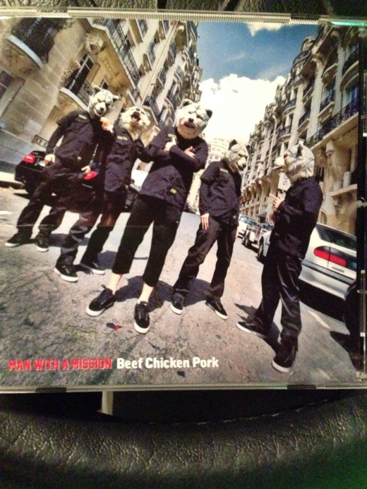 MAN WITH A MISSION NEWALBUM^o^! Beef Chicken Pork NOW ON SALE!!