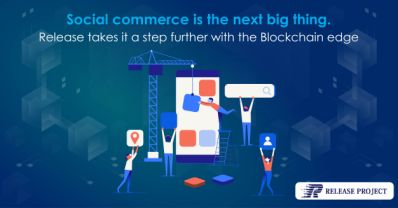 An article of ReleaseProject was posted on Yahoo Finance.   Social commerce is the next big thing: Release takes it a step further with the Blockchain edge.   Release is set to be the next big revolution in social media and e-commerce with the introduction of the social-commercial platform. Release is an amalgamation of social media and e-commerce using blockchain technologies, big data and artificial intelligence (deep learning).  Read more ↓ .  https://finance.yahoo.com/news/social-commerce-next-big-thing-100100917.html?co_servername=oeya_lquvD5GVmP