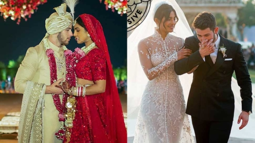 #American Singer Nick Jonas got married with #Indian #Bollywood actress.