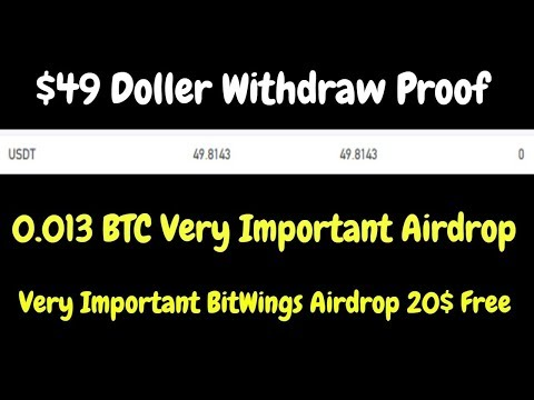$49 USD Withdraw Proof | 0.013 BTC Very Important Airdrop All Friends Join Fast – YouTube