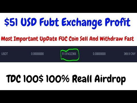 $51 USD Profit FUC Exchange Coin Seall And Withdraw | ($100) Airdrop Trustdex trading platform – YouTube