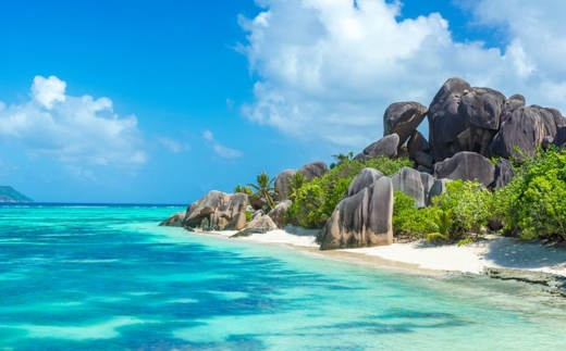 Seychelles  Pristine and picture-perfect, the Seychelles are worth traveling for. East of Kenya, this relatively unspoiled archipelago of 115 coral and granite islands feature UNESCO-listed jungles; thriving coral reefs; and palm-lined, powdery beaches flanked by giant boulders. Almost half the total land area of these equatorial isles is protected, and many of the islands lie within fish-rich marine sanctuaries with excellent diving and snorkeling. The Seychelles also feature some of the planet's richest fishing grounds, making this a top destination for anglers. Add some spicy Créole cuisine into the mix as well as the plush resorts of Mahé, Praslin, and La Digue, and it's easy to understand the Seychelles' allure.