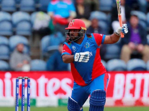 Afghanistan`s Mohammad Shahzad in action against Sri Lanka in Cardiff Wales Stadium, Cardiff, Britain on 4 June, 2019. Photo: Reuters   #afganistan #shahazad #worldcup #2019 #Rel