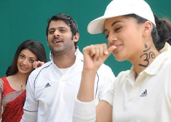 Prabhas, the world's most famous Indian filmmaker, is accompanied by the filmmaker Kajol Agarwal. # probash #