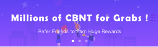 👉 Airdrop CBNT 👈  Free 350 CBNT token  Link 👇👇  http://bit.ly/2wJktQj  👉 Sign up 👉 Verif email 👉 Login, Click setting,Click refer, Click my referrer, Enter code : It8dcL 👉 Click account security 👉 Identity verification ( verify now )  For KYC  Done  # ethereum # bitcoin # litecoin # trx # cryptocurrency # crypto # EOS # ETH # blockchain # airdrop # bounty # ERC20 # ICO # exchange # btc # giveaway